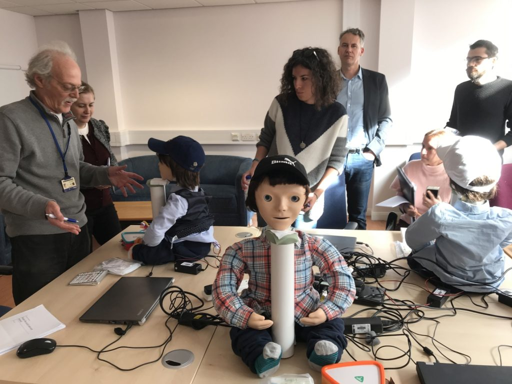 Meeting in Hertfordshire, staff training